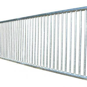 Barrière à barreaux verticaux