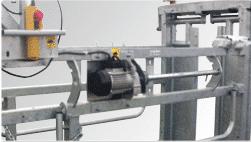 Treuil électrique central pour CCP3000 / TE