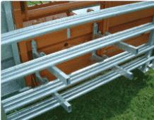 12 barrières transportables